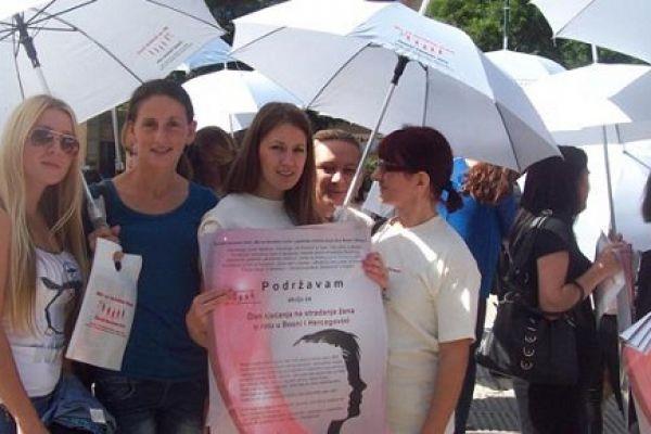Obilježavanje Dana sjećanja na stradanje žena u ratu u Bosni i Hercegovini